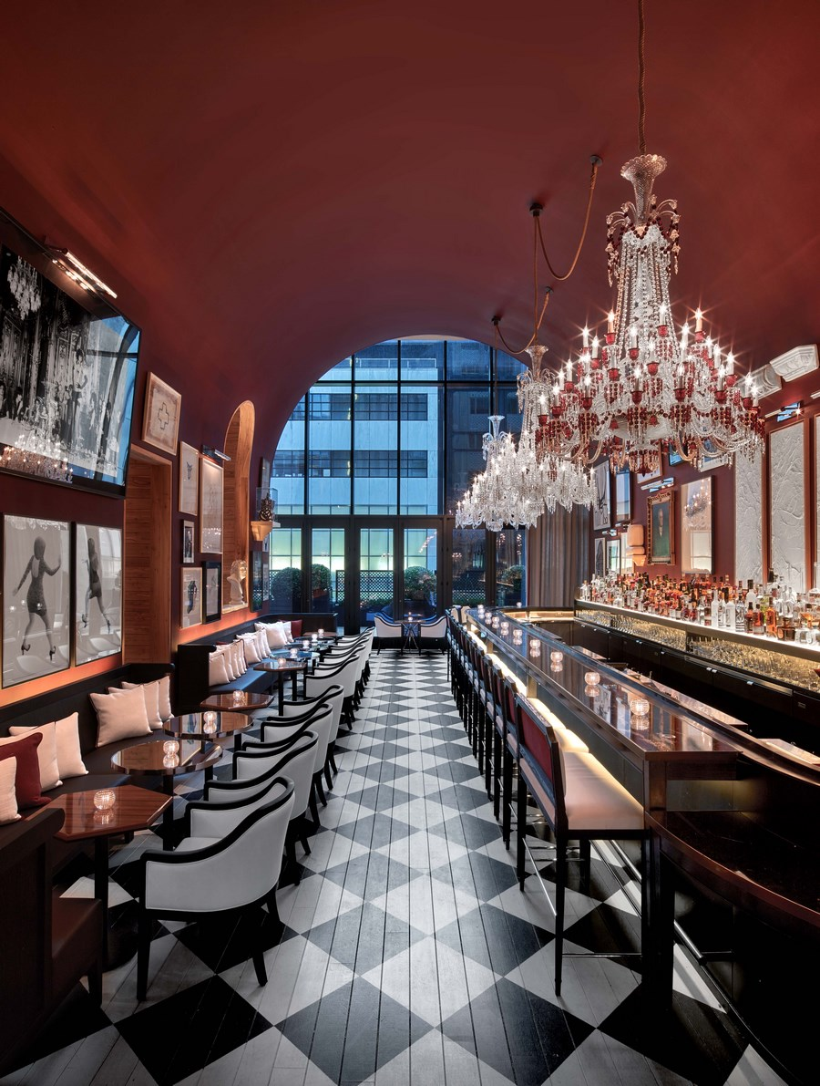 Baccarat Hotel & Residences New York_The Bar (5)